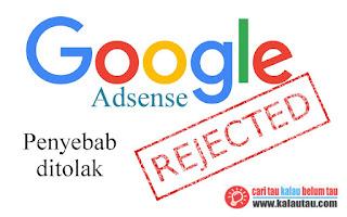 kalautau.com - Semangat Baru Karena di Tolak Google Adsense