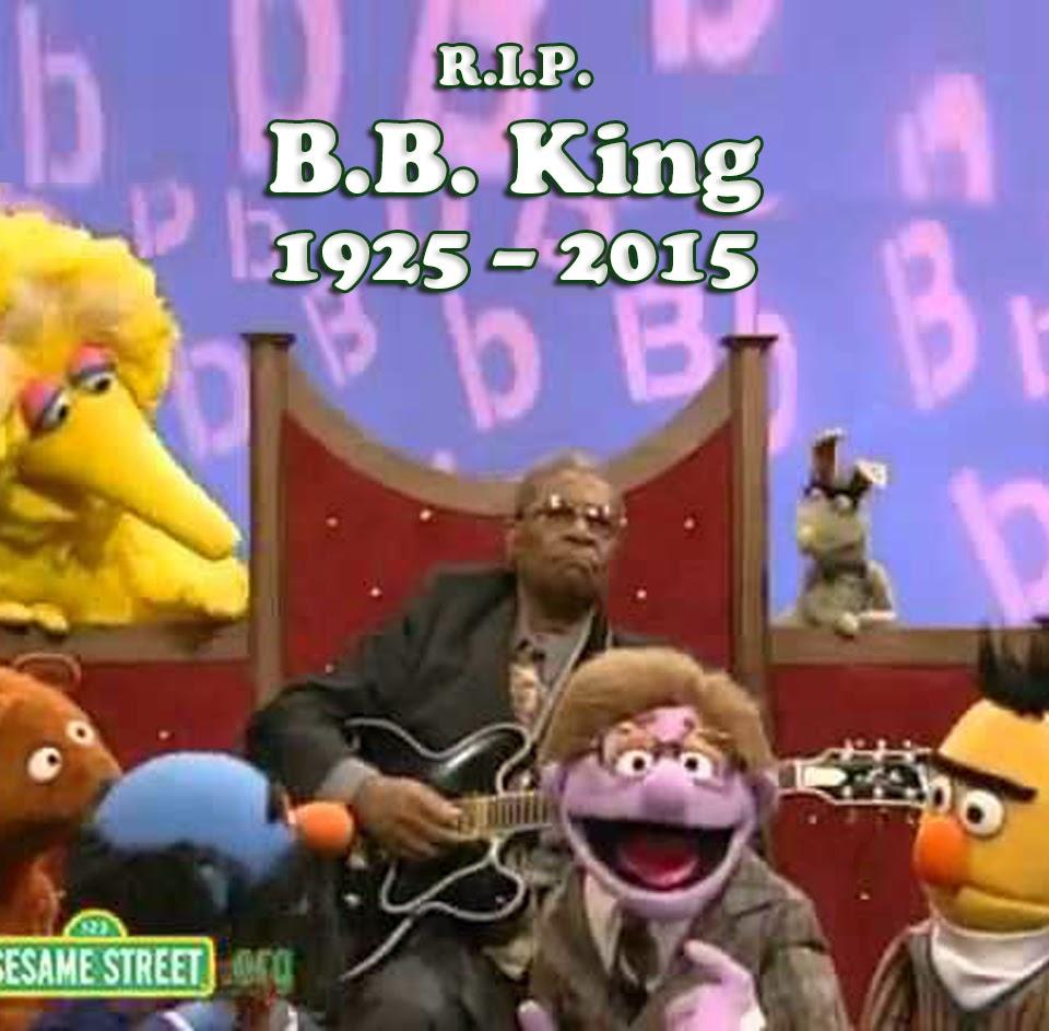 Muppet Stuff RIP B B King