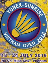 Yonex Sunrise Vietnam Open Grand Prix 2016