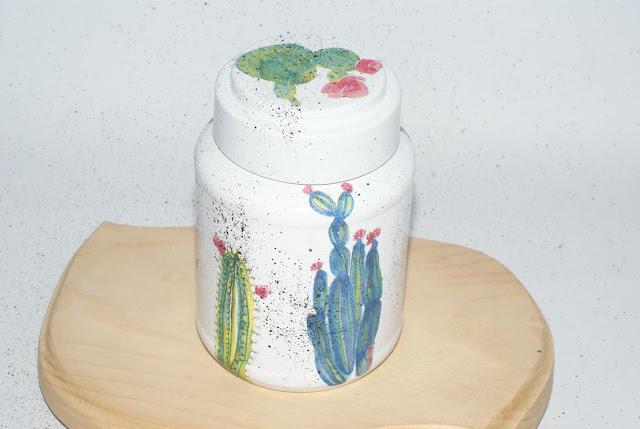 kaktusowy słoik