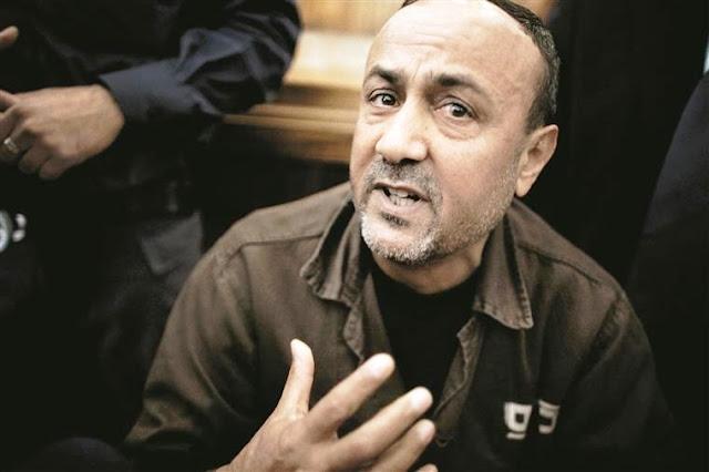Maruan Barghuti lidera greve de fome dos prisioneiros palestinos