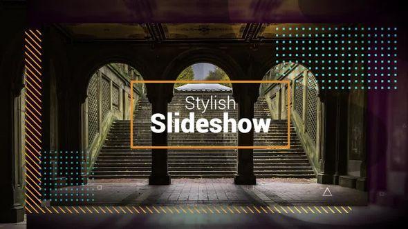 stylish slideshow 64232 premiere pro templates