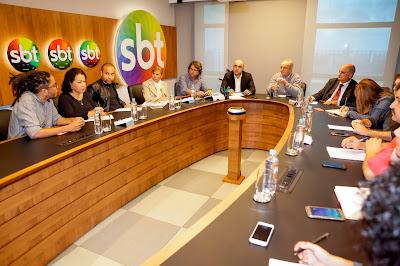 Jornalistas acompanham o evento de Lançamento da Copa Nordeste 2019 - Foto: Gabriel Cardoso