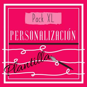 Cartel Pack XL (personalización de plantillas)