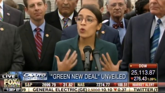 Socialist Lunatic Ocasio-Cortez LASHES OUT after Polling Numbers Put Her in the Green New Gutter