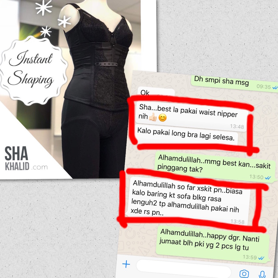 testimoni 1 premium beautiful slipped disk