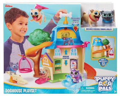 BINGO Y ROLLY | Puppy Dog Pals Doghouse Playset | Casa para el perro     Producto Oficial Serie Disney Junior | A partir de 3 años  COMPRAR ESTE JUGUETE