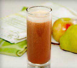 Licuados con pera con manzanas
