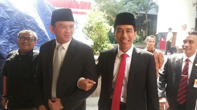 Bergabung Ke PDIP, Ahok Akan Gerus Elektabilitas Jokowi