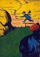 Reinações de Narizinho. Monteiro Lobato. Editora Brasiliense. Augustus (Augusto Mendes da Silva). Contracapa de Livro. Década de 1950. Década de 1960.