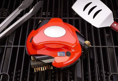 automatic grill cleaner