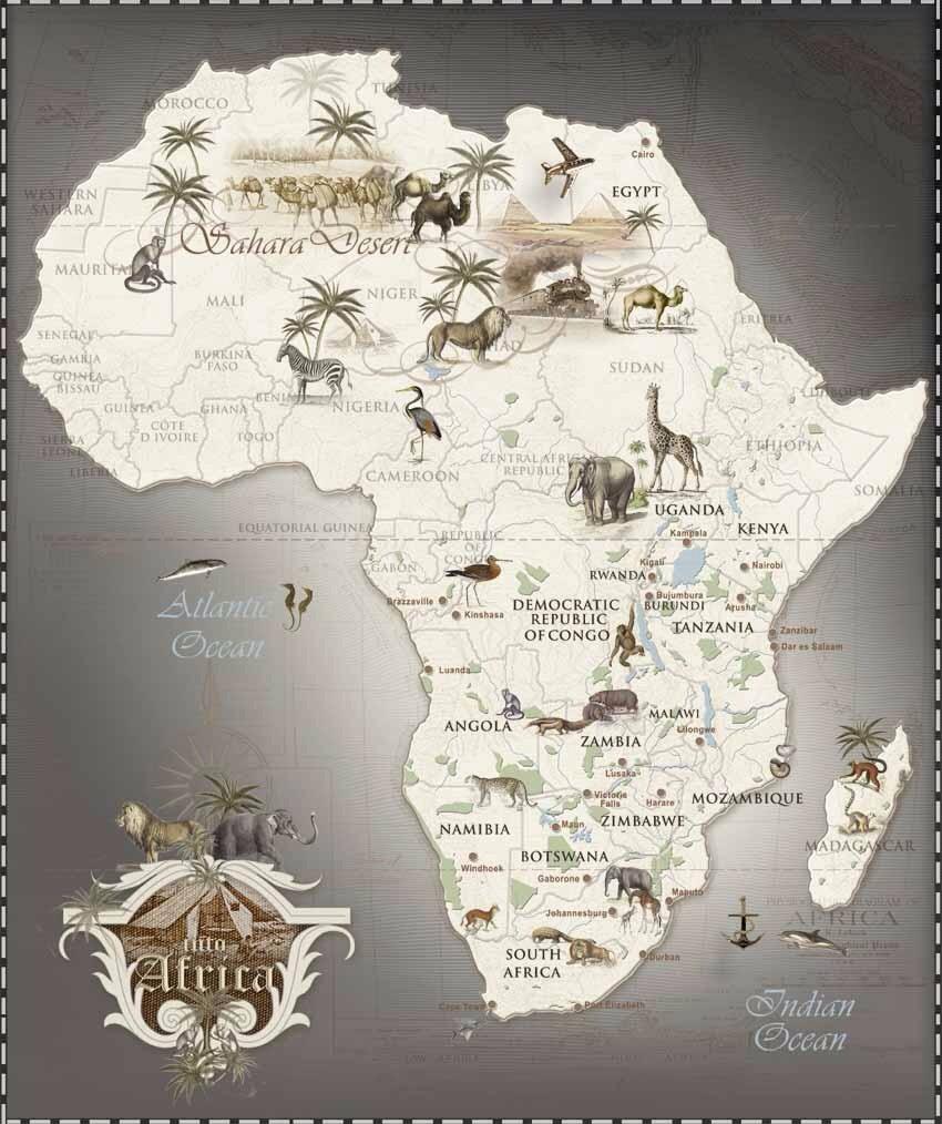Mapas da Africa