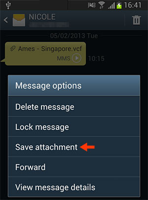 Inside Galaxy Samsung Galaxy S3 How To Save Mms Pictures