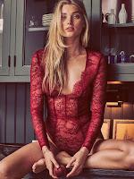 Elsa Hosk hot models in sexy lingerie photo shoot for Victoria's Secret bras panties