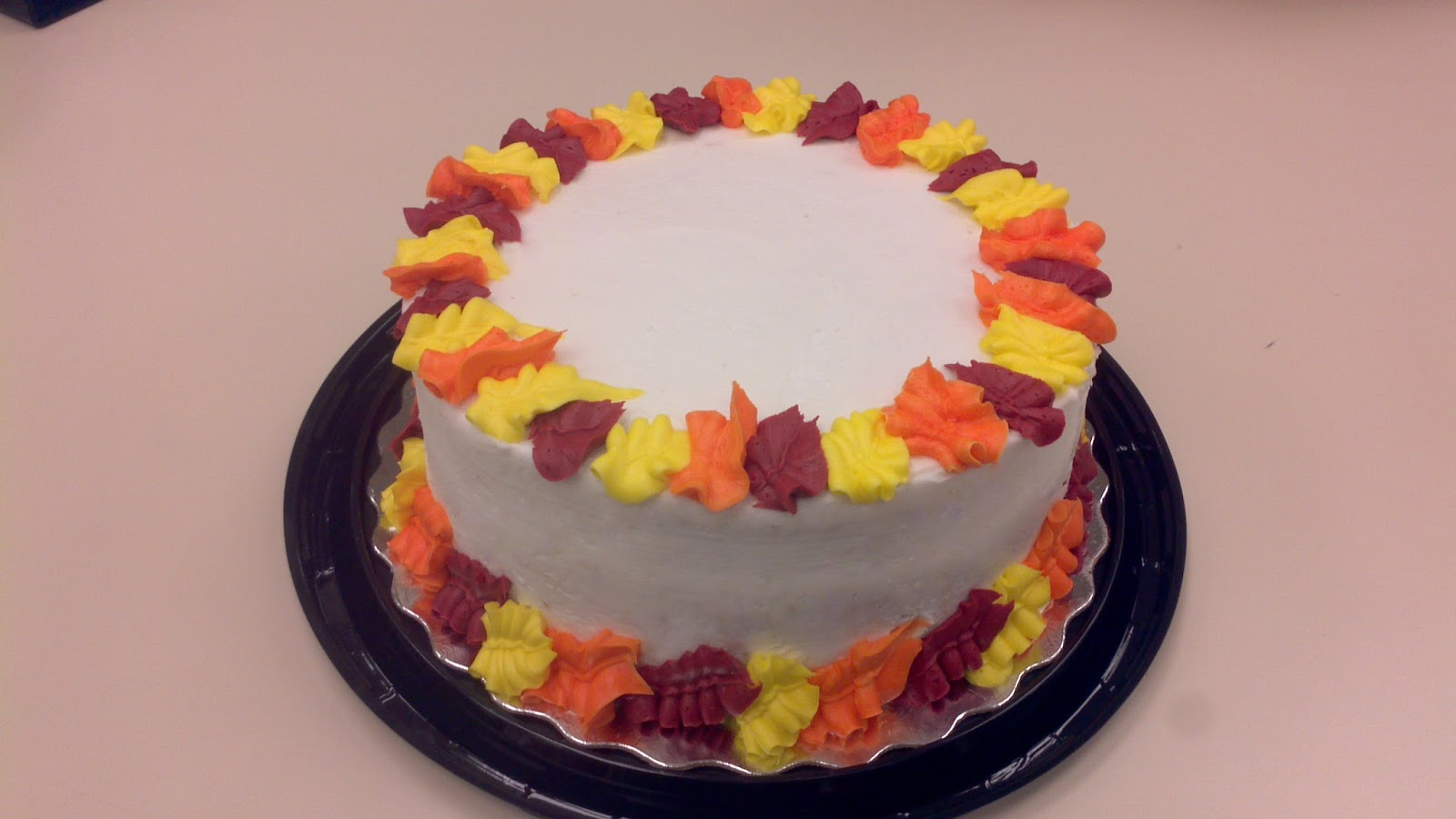 Frosting, Cakes, and Creativity: Fall Cake and Cupcake Decorations