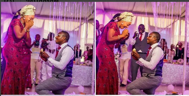 Aww! Wedding best man proposes to his girlfriend in front of wedding guests