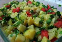 Buharda Patates Salatası Yapılışı Kolay Tarif Patates Salatası