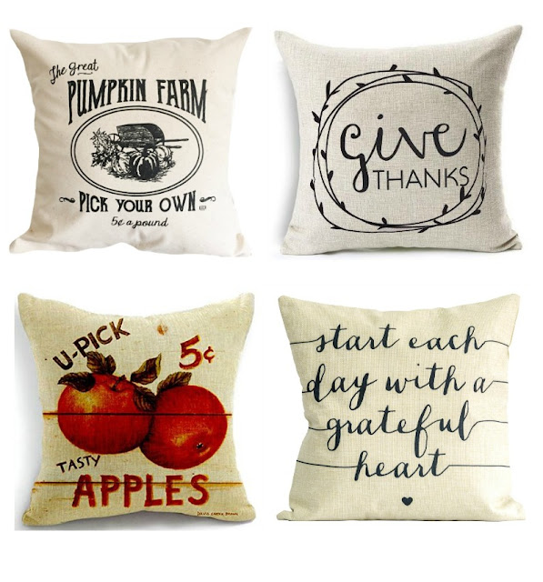 decorative pillows for fall