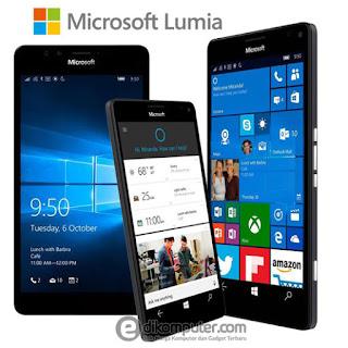 Daftar Harga Smartphone Microsoft Lumia Terbaru 2016