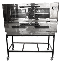 Oven Gas Stainless Manual P-90