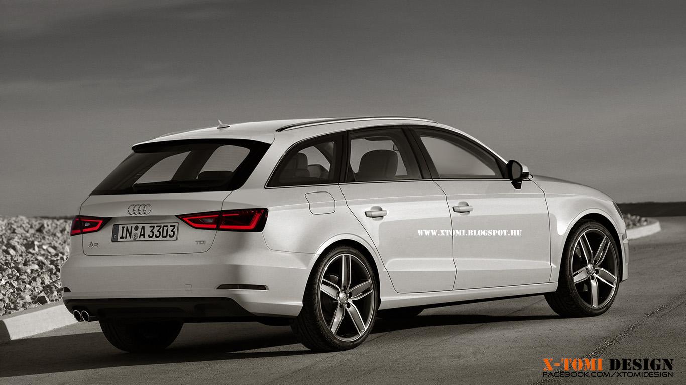 Audi A3 2008 >> X-Tomi Design: Audi A3 Avant 2013