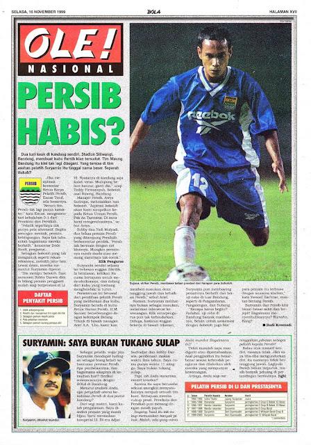 BERITA SEPAKBOLA NASIONAL INDONESIA PERSIB BANDUNG