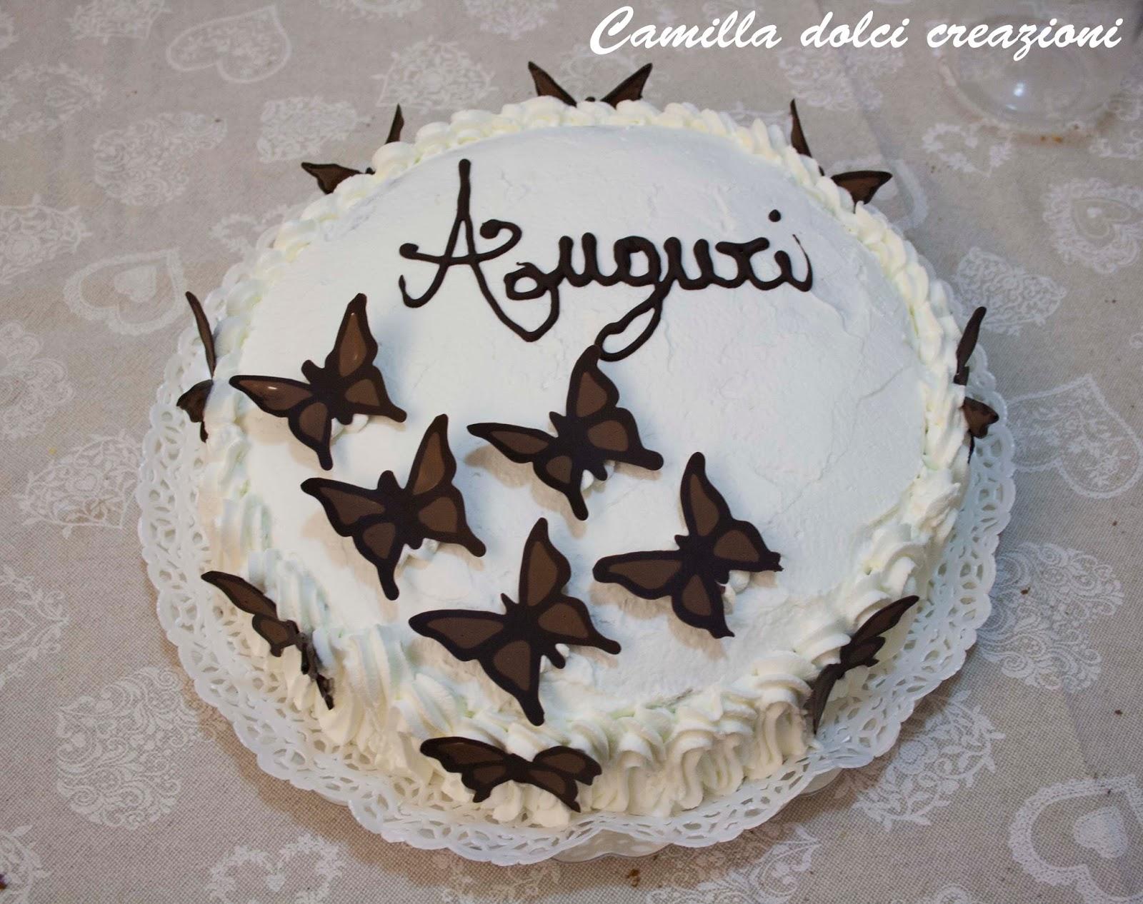 Conosciuto Camilla dolci creazioni: Torta di compleanno con farfalle AU52