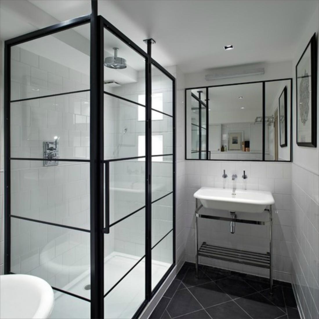 Bathroom doors houzz - Factory Shower Doors