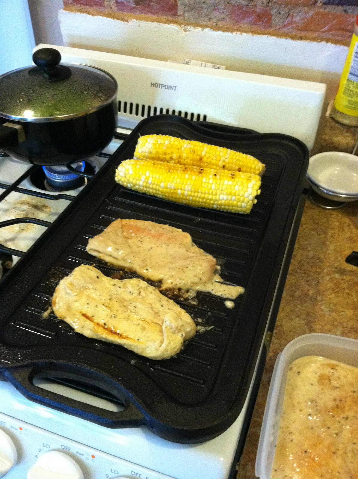 Gas Stove Girl: On the Grill: Lemon & Garlic Chicken with ...