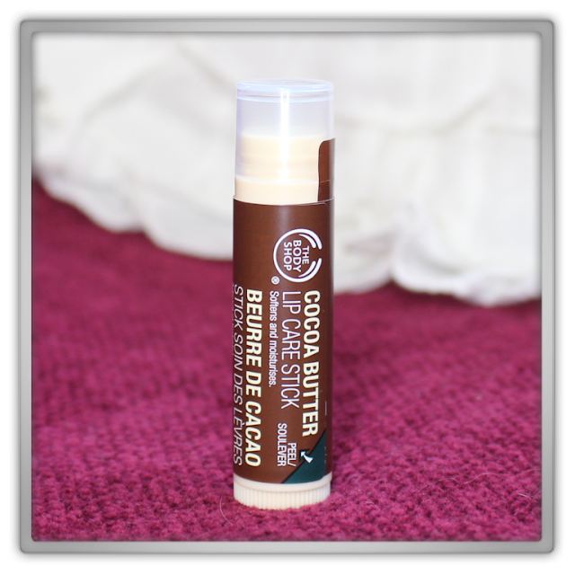 The Body Shop Haul Review blog beauty blogger cacao butter lip care stick balm chocolate soft moisture