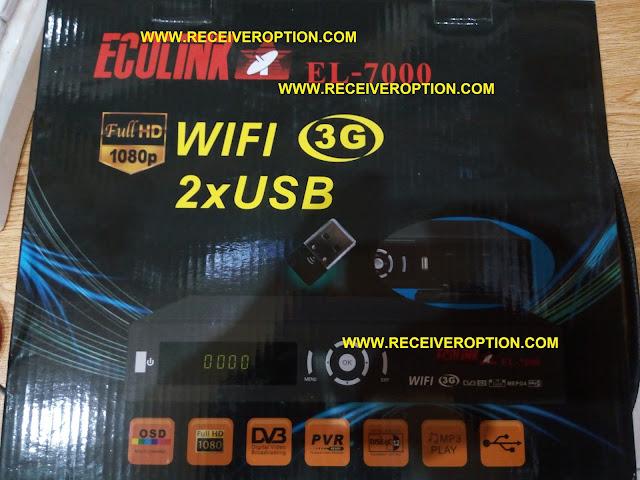 ECOLINK EL-7000 HD RECEIVER FLASH FILE
