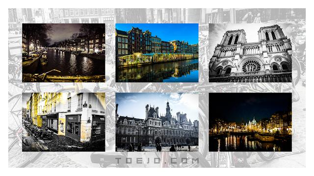 toejo - paris and amsterdam