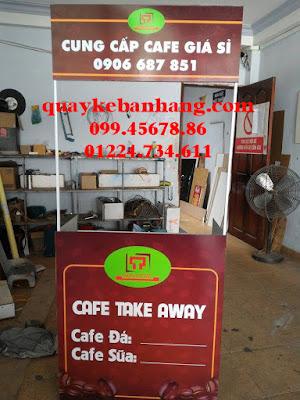 Quầy bán cafe take away di động