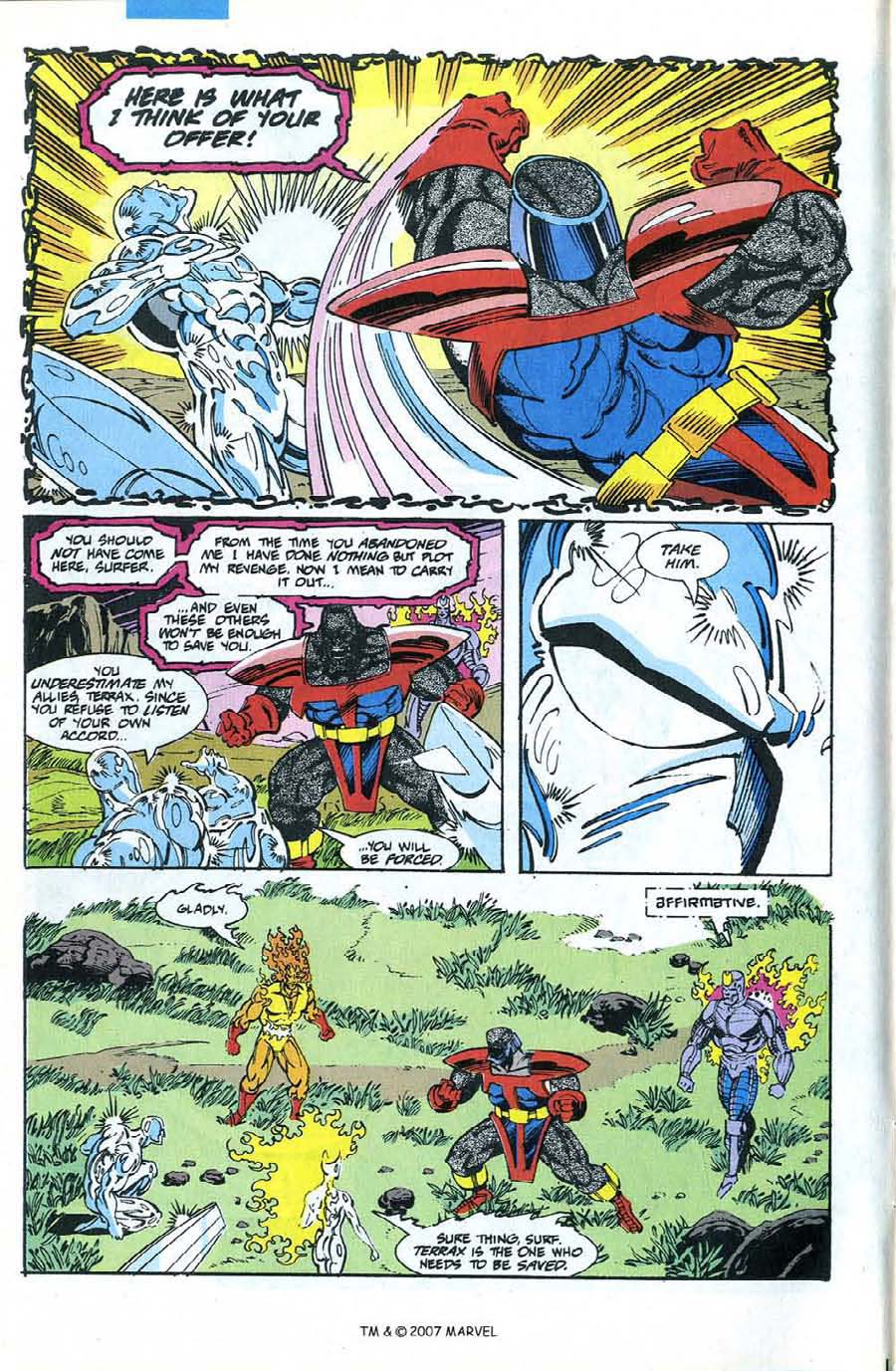 Read online Silver Surfer (1987) comic -  Issue #74 - 6