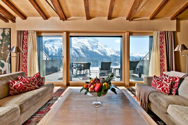 Carlton Hotel St. Moritz in Engadin Valley Switzerland