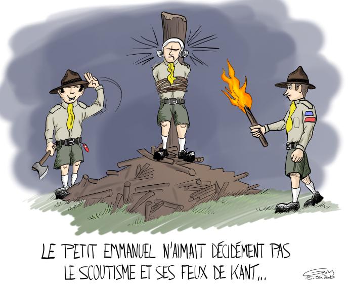 feux de camp et scoutisme