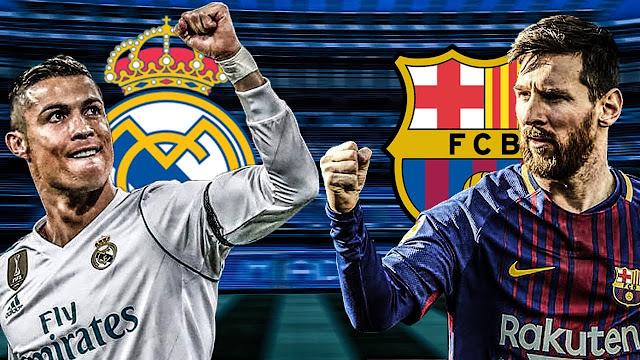 مشاهدة مباراة الكلاسيكو برشلونة وريال مدريد بث مباشر تعليق عصام الشوالي بي أن سبورت HD1