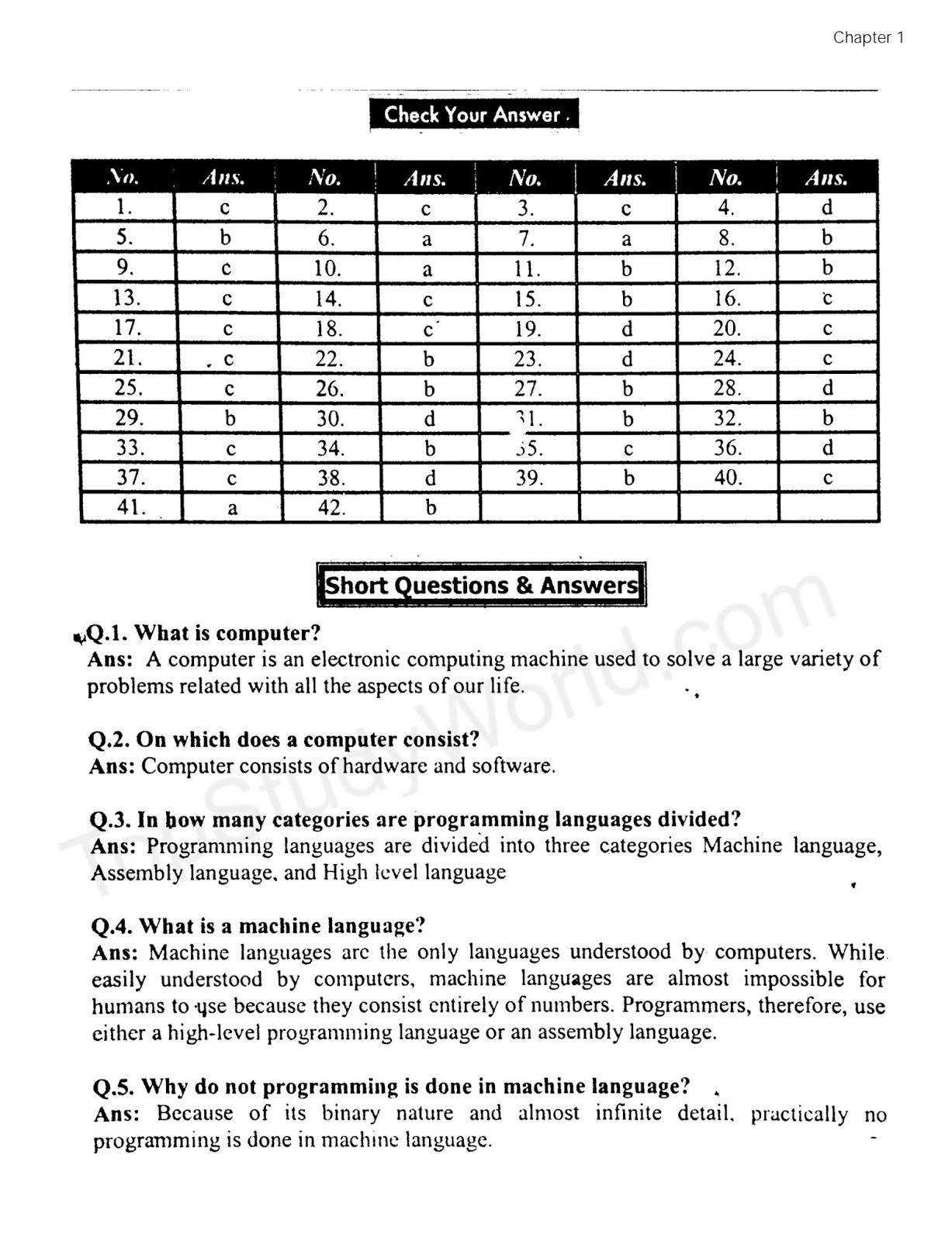 Language notes pdf format c