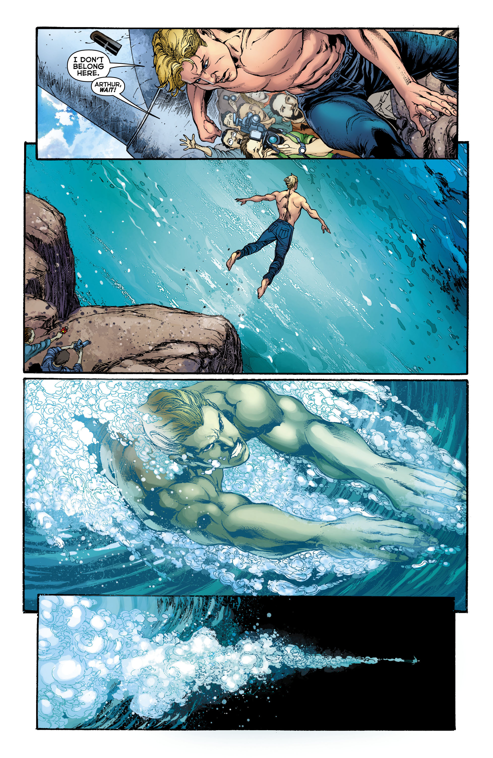 Read online Aquaman (2011) comic -  Issue #0 - 4