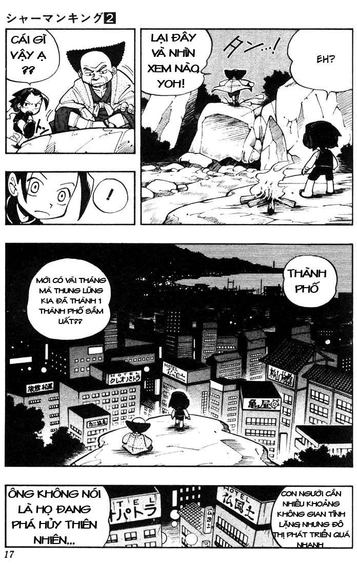 Shaman King [Vua pháp thuật] chap 9 trang 13