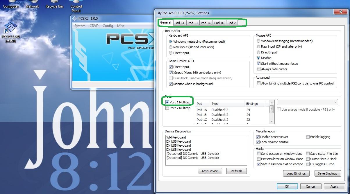 HowTo: Playstation 2 Emulator 3+ Players Setup | PCSX2 | XARIS Tech
