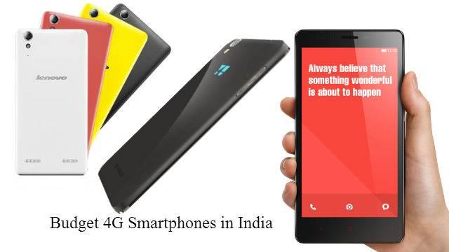 Best 4G smartphones under 10k In India 2017