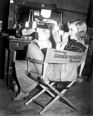 Ginger Rogers detrás de las cámaras