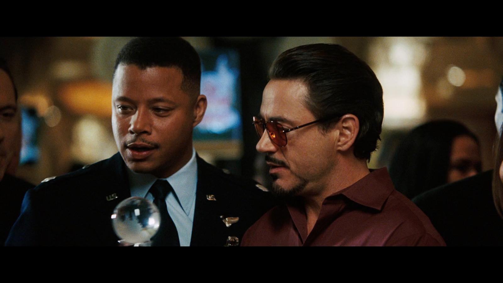 Iron Man (2008) BRRip 720p Latino-Ingles captura 1