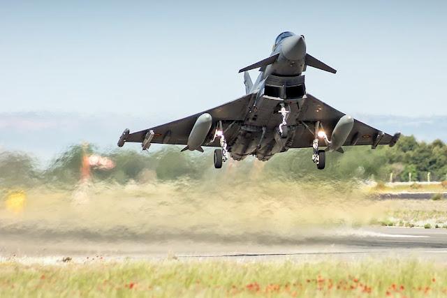 Eurofighter italiani intercettano velivolo Montenegro