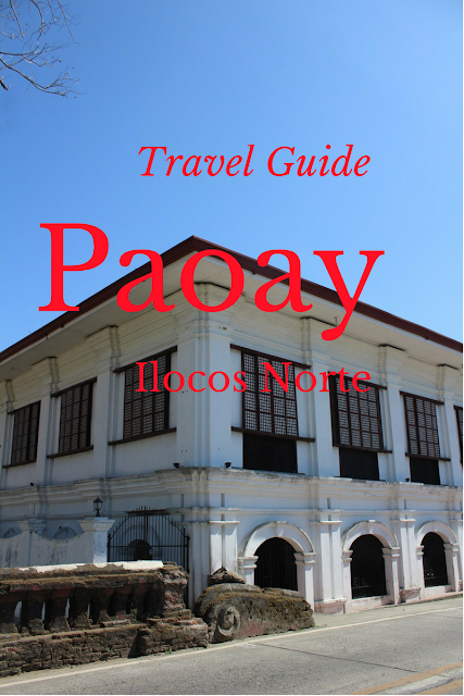 travel guide to paoay ilocos norte