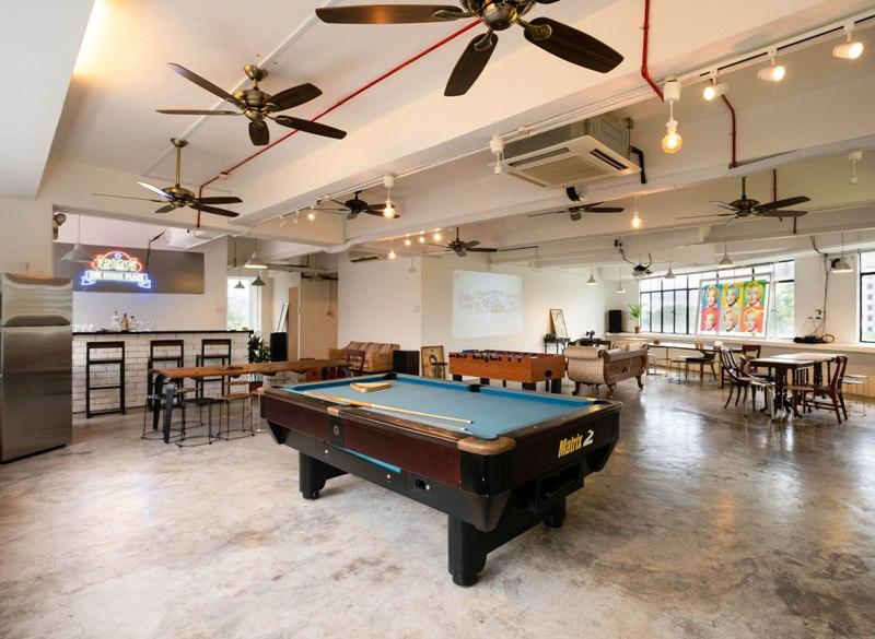 usual place event venue team bonding venuerific singapore