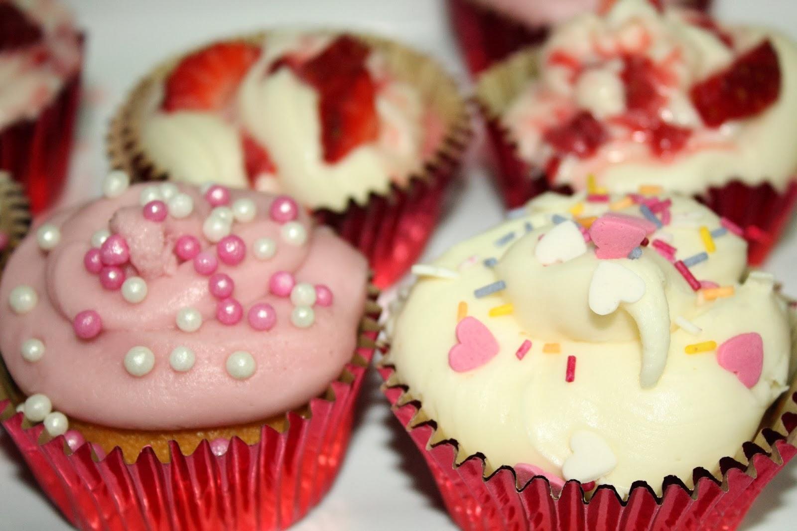valentine's day #cupcakes