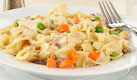 QUICK AND EASY TUNA NOODLE SKILLET DISH