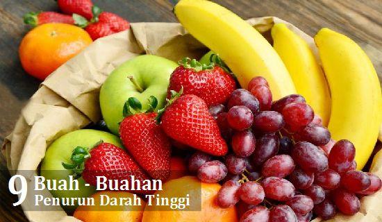 Turunkan tekanan darah tinggi dengan cepat dengan mengkonsumsi beberapa jenis buah - buahan ini.